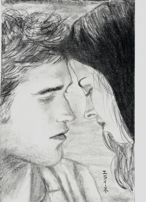 Kristen Stewart, Robert Pattinson by elaine13sp